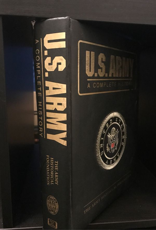 ARMY HISTORY BOOK