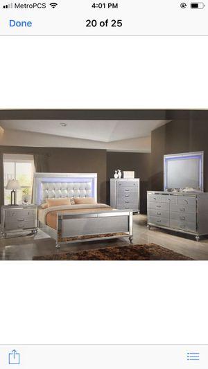 Brand new queen size bedroom set $1499 for Sale in Hialeah, FL
