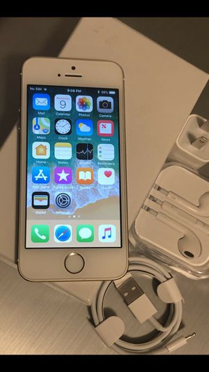 iPhone 5s : Excellent Condition , Factory unlocked. for Sale in Springfield, VA