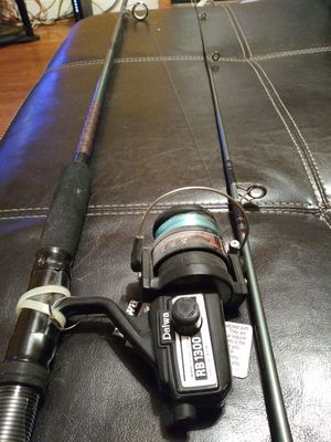 Fishing rod and tackle box for Sale in Miami, FL