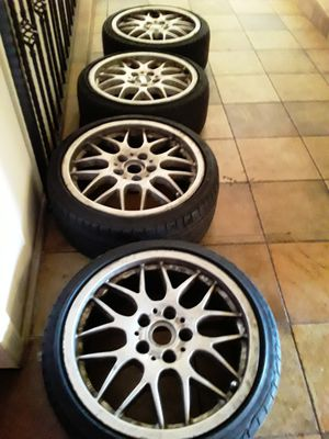 Real BMW BBS Rims 17s for Sale in Los Angeles, CA