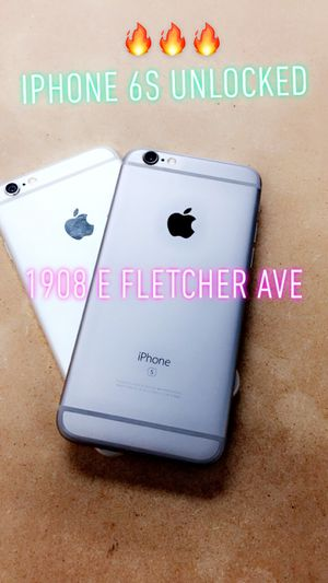 iPhone 6s Unlocked for Sale in Tampa, FL