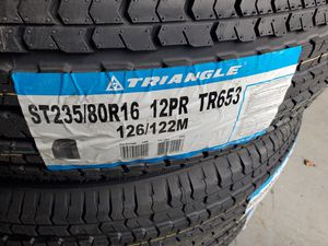 ST 235 80 16 trailer tires for Sale in Tacoma, WA