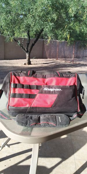 Snap-on 16in zipper tool bag for Sale in Tucson, AZ