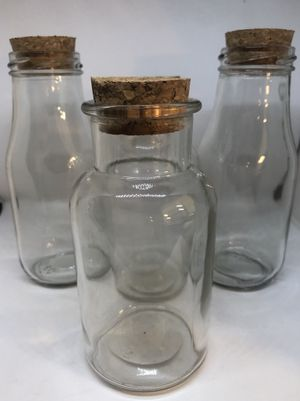 🙋‍♀️Glass Apothecary Jars - 4 pc set for Sale in Pembroke Pines, FL