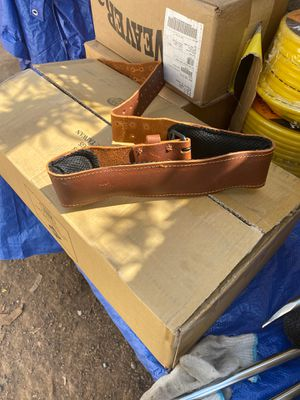 Embassador leather belt fits 32 to 42 for Sale in Phoenix, AZ