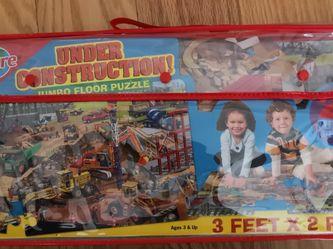 24 Piece Jumbo Floor Puzzle for Sale in Bellevue,  WA