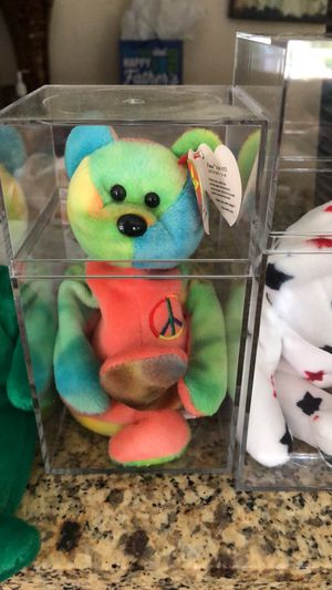 Peace ty bear for Sale in San Luis Obispo, CA
