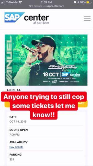 AAnuel Concert tickets for Sale in Hayward, CA
