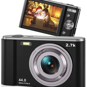 """New 44MP Small Digital Camera, 2.88"""" IPS 16X Digital Zoom Point and Shoot Camera for Kids Teens for Sale in Milpitas, CA"""