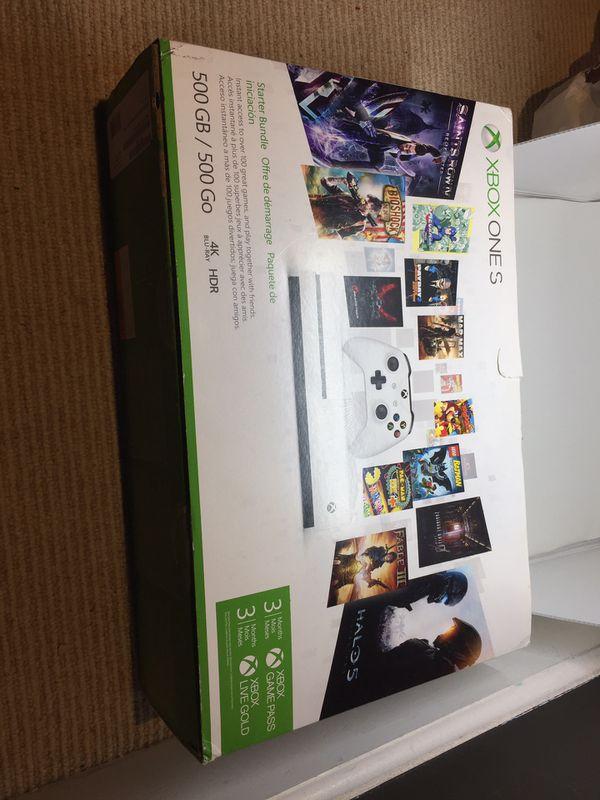 Like New - White Xbox One S 500GB