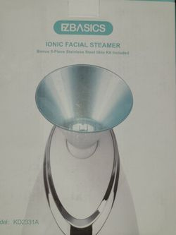 EZBASICS Facial Steamer Nano Ionic Face Steamer for Sale in Hillsboro,  OR