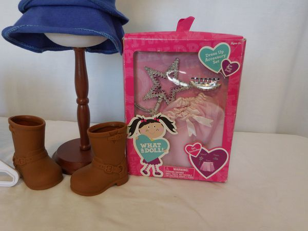 American Girl Doll Saige Copeland Girl of The Year 2013 Retired +Tote + Princess
