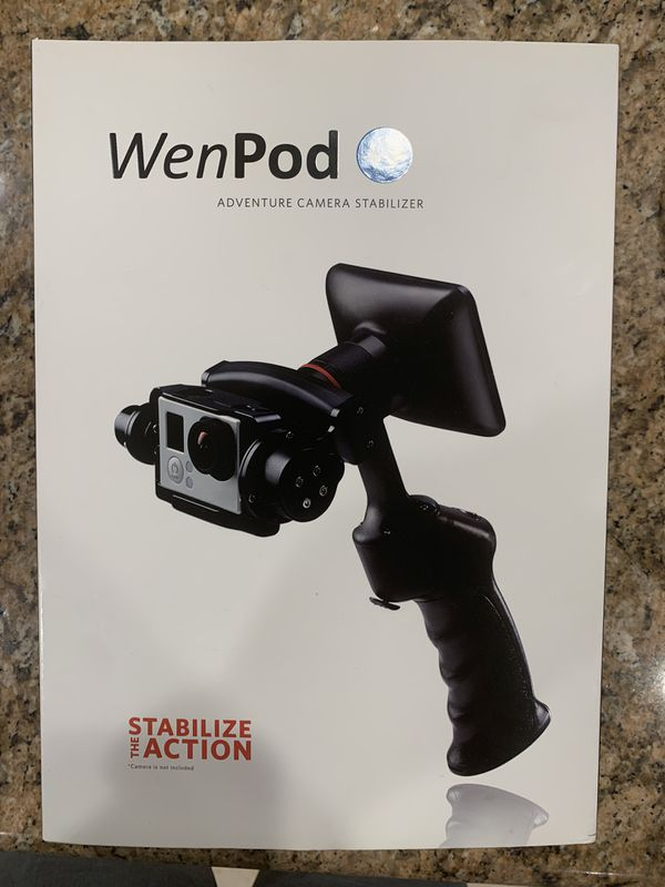 Wenpod Gopro stabilizer with LCD screen