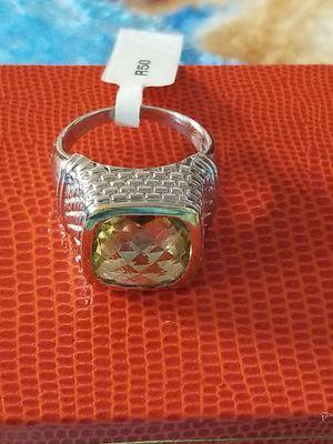 BEAUTIFUL LEMON TOPAZ RING for Sale in Springfield, VA