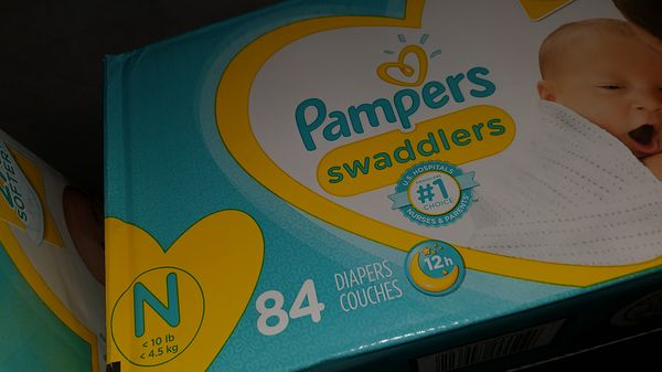 Pampers Swaddlers Newborns and Size 1