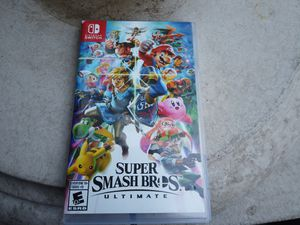 Super Smash Bros Nintendo Switch for Sale in Long Beach, CA