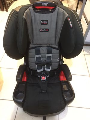 Britax Frontier ClickTight Harness Booster Car Seat - Slate Strie for Sale in Staten Island, NY