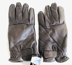 leather men's gloves size L for Sale in Everett, WA