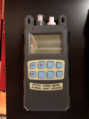 Fiber optic visual fault locator and power meter for Sale in Leavenworth, WA