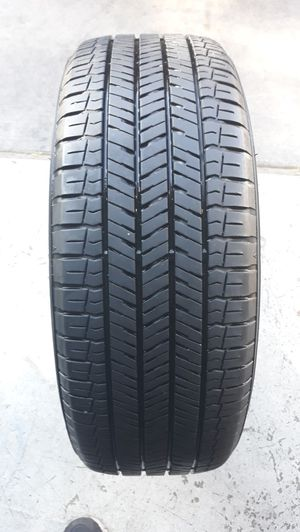 1 TIRE - 205/60R16 YOKOHAMA BLUEARTH . TIRE WITH ABOUT 75- 80 % TREAD REMAINING. . NO PATCHES. for Sale in Henderson, NV