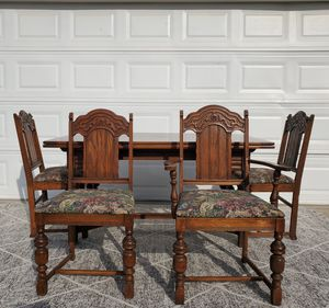 Antique Kitchen Table Dining Table Set for Sale in Modesto, CA