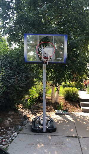 Lifetime basket ball hoops and pole - Needs repair for Sale in Louisville, CO
