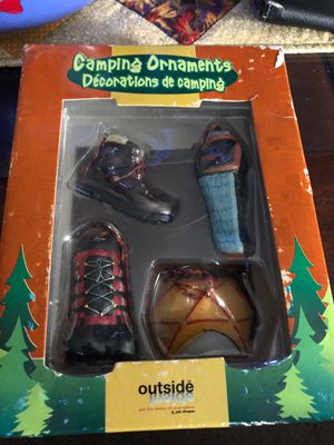 Camping Ornaments UT5• for Sale in Hayward, CA