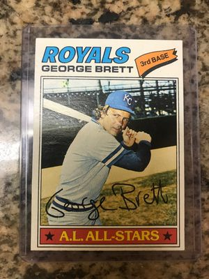 George Brett 1977 Topps Vintage baseball card for Sale in Tampa, FL