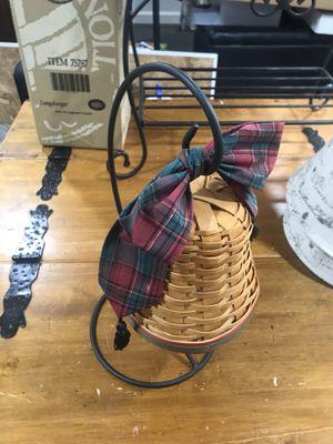 "Longarberger ""Christmas Bell"" for Sale in Gresham, OR"