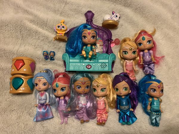Shimmer and Shine Dolls & Playset