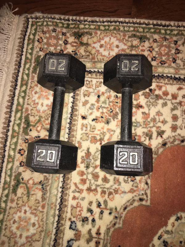20 lbs dumbbell