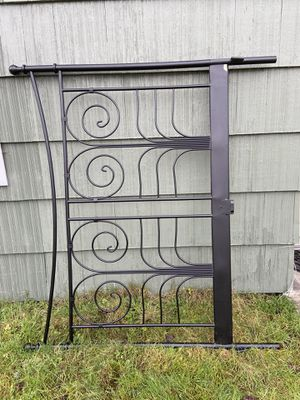 Black Queen Bed Frame - pending pick up for Sale in Tacoma, WA