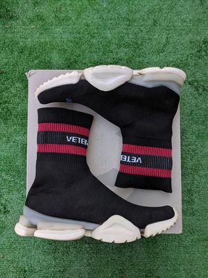 Vetements x reebok runners for Sale in Bellevue, WA