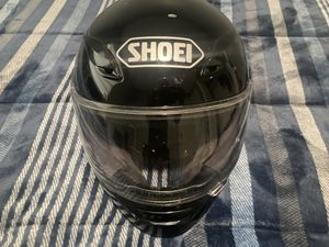 Shoei black motorcycle helmet large rf1100 for Sale in BELLEAIR BLF, FL