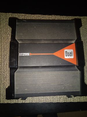Dual 2 channel 400 watt car stereo amplifier for Sale in Columbia, MO