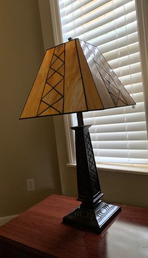 (2) stained glass lamps for Sale in Punta Gorda, FL