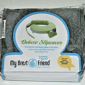 My Brest Friend Nursing Pillow Deluxe Slipcover Machine Washable Grey for Sale in North Haven, CT