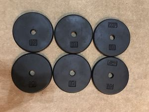 Weight Plates 60 lbs for Sale in Johns Creek, GA