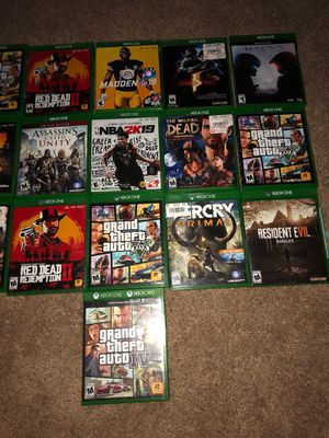 Xbox one games for Sale in Indianapolis, IN