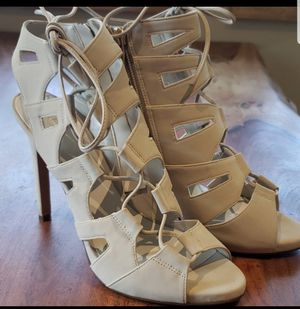 Aldo Verrasa Lace-up Heels Sz8 for Sale in Leavenworth, WA