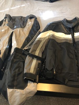 Xelement Motorcycle Gear - Jacket and Pants for Sale in Humble, TX
