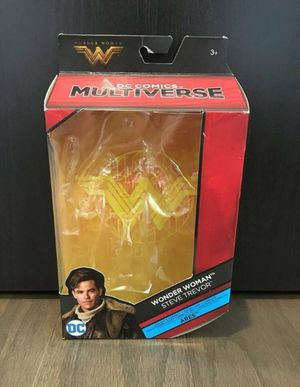 DC Multiverse Wonder Woman Steve Trevor Action Figure BOX ONLY for Sale in Oakland, FL