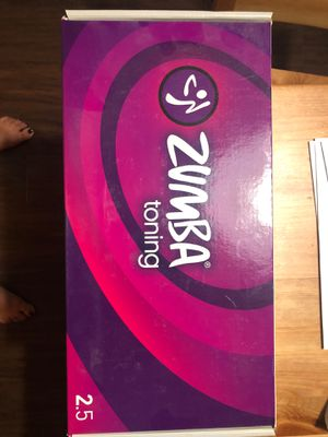 Zumba Toning Sticks 2.5lb for Sale in Long Beach, CA