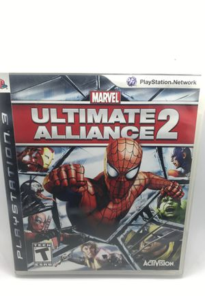 Marvel Ultimate Alliance 2 Sony PlayStation 3 for Sale in Corona, CA