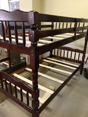 Twin / twin bunk bed frame for Sale in Gwinnett Village, GA