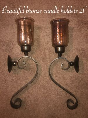 Gently used beautiful matching candle holders set $70 firm pick up only for Sale in Laveen Village, AZ