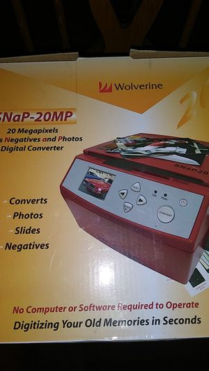 Photo and digital converter for Sale in Sayreville, NJ