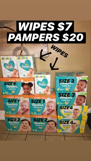 PAMPERS & WIPES for Sale in Philadelphia, PA