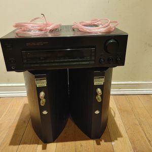Sony FM Stereo Receiver STR-D315 FM/AM 2 Channel 100W AV Audio Bundle for Sale in Queens, NY